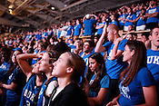 Duke fans and students witness the final seconds of the NCAA championship game against the Bultler Bulldogs inside Cameron Indoor Stadium. Duke defeated Butler 61-59 in a breathtaking finish to an unexpected championship season, the fourth for the university and Head Coach Mike Krzyzewski.