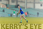 Barry John Keane Kerry in action against  Limerick in the Final of the McGrath Cup at the Gaelic Grounds on Sunday.