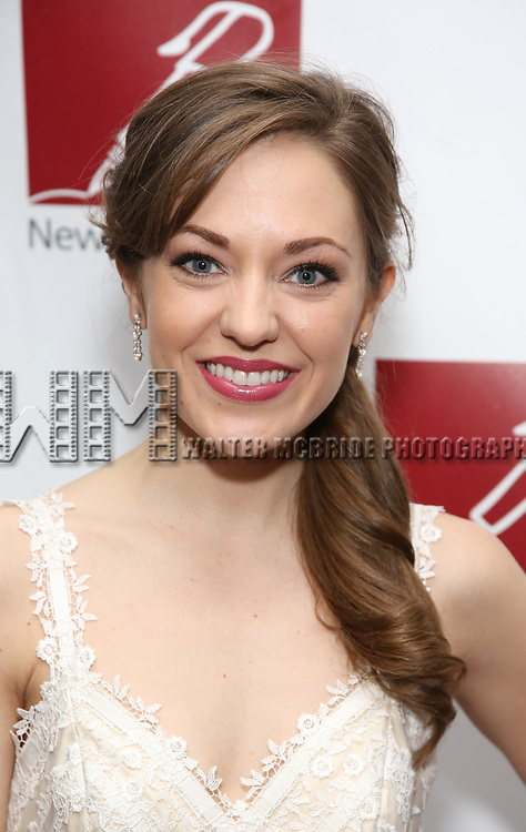 Laura Osnes attends The New Dramatists' 68th Annual Spring Luncheon at the Marriott Marquis on May 16, 2017 in New York City.