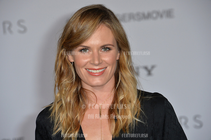 Actress Lauren Shaw at the world premiere of &quot;Passengers&quot; at the Regency Village Theatre, Westwood. <br /> December 14, 2016<br /> Picture: Paul Smith/Featureflash/SilverHub 0208 004 5359/ 07711 972644 Editors@silverhubmedia.com