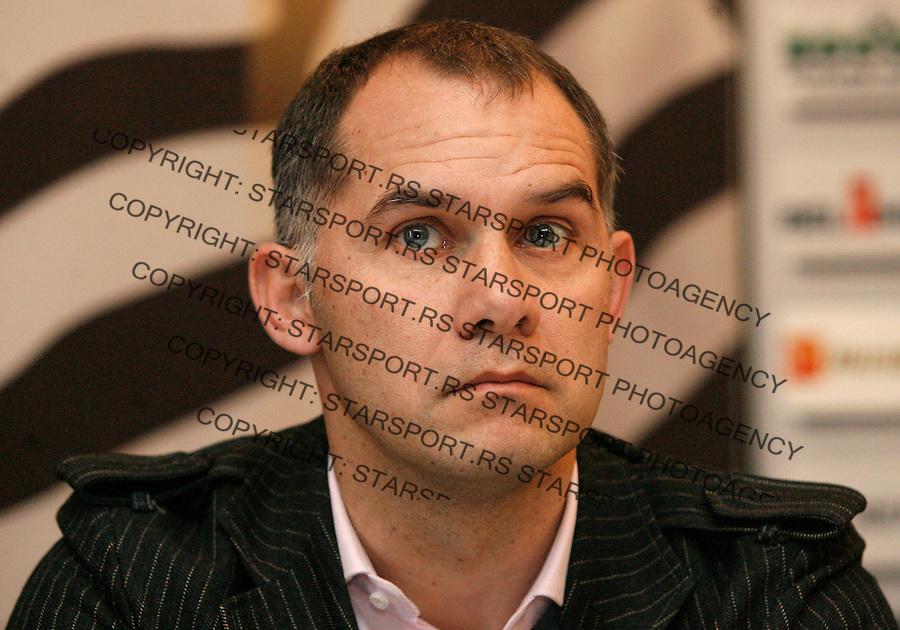 Fudbal Super liga season 2013-2014<br /> FK Partizan konferencija za medije<br /> Albert Nadj <br /> Beograd, 01.14.2014.<br /> foto: Srdjan Stevanovic/Starsportphoto&copy;