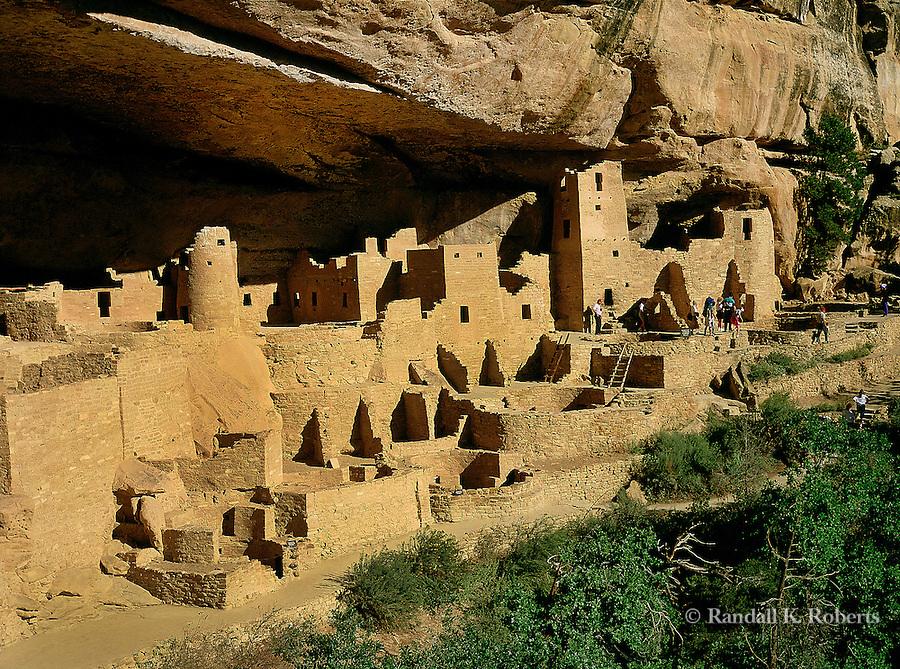 Cliff Palace ruins, Mesa Verde National Park, Colorado
