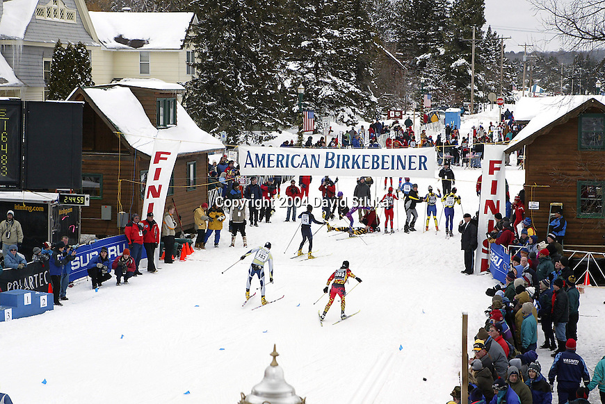 a history of the american birkebeiner ski race