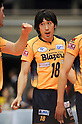Daisuke Omichi (Blazers), MARCH 5, 2011 - Volleyball : 2010/11 Men's V.Premier League match between F.C.Tokyo 0-3 Sakai Blazers at Tokyo Metropolitan Gymnasium in Tokyo, Japan. (Photo by AZUL/AFLO).