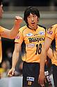 Daisuke Omichi (Blazers), MARCH 5, 2011 - Volleyball : 2010/11 Men's V.Premier League match between F.C.Tokyo 0-3 Sakai Blazers at Tokyo Metropolitan Gymnasium in Tokyo, Japan. (Photo by AZUL/AFLO).