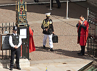 &quot;Dr. Strangelove&quot; - 2011<br /> <br /> London, 24/05/2011. The US President Barack Obama and his wife Michelle Obama arrived at Westminster Abbey during their first state visit to the United Kingdom.