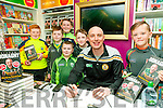 "Book Signing : Kerry footballer Kieran Donaghy signing copies of his book ""What do you Think of That"" at Eason's Book Shop, Listowel on Saturday last in the company of Eoghan &  PJ Dowling,Jack & Cian O'Connor, Jack Collins & Donal O'Connor"