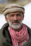 Following an October 8, 2005, earthquake, this man lived in a tent city outside Balakot sponsored by Church World Service/Action by Churches Together.