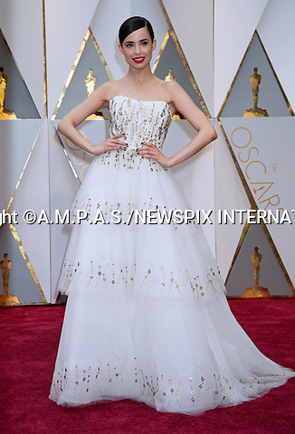 26.02.2017; Hollywood, USA: SOFIA CARSON<br /> attend The 89th Annual Academy Awards at the Dolby&reg; Theatre in Hollywood.<br /> Mandatory Photo Credit: &copy;AMPAS/NEWSPIX INTERNATIONAL<br /> <br /> IMMEDIATE CONFIRMATION OF USAGE REQUIRED:<br /> Newspix International, 31 Chinnery Hill, Bishop's Stortford, ENGLAND CM23 3PS<br /> Tel:+441279 324672  ; Fax: +441279656877<br /> Mobile:  07775681153<br /> e-mail: info@newspixinternational.co.uk<br /> Usage Implies Acceptance of Our Terms &amp; Conditions<br /> Please refer to usage terms. All Fees Payable To Newspix International