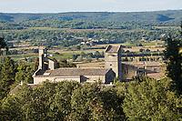 Europe/France/Languedoc-Roussillon/30/Gard/ Saint-Siffret: le village