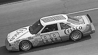 Buddy Baker (88) Oldsmobile 15th place finish Motorcraft 500 at Atlanta International Raceway in Hampton, GA on March 16, 1986.   (Photo by Brian Cleary/www.bcpix.com)