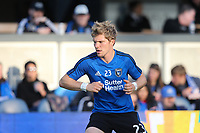 San Jose, CA - Saturday May 06, 2017: Florian Jungwirth prior to a Major League Soccer (MLS) match between the San Jose Earthquakes and the Portland Timbers at Avaya Stadium.