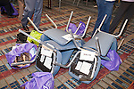 "March 11, 2010. Raleigh, North Carolina.. The first N.C. Poverty Simulation Experience training session was held at the 40th Annual State Head Start Conference at the Raleigh Convention Center.  . Nearly 60 individuals, including staff and parents from Head Start programs and Community Action Agencies, engaged in role playing exercises that hoped to simulate the experience of being poor and what the poor go through on a daily basis.. A ""family"" was evicted from their home."