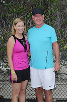BOCA RATON - NOVEMBER 18: Chris Evert and Alan Thicke attend the Chris Evert-Raymond James Pro Celebrity Tennis Classic held at the Boca Raton Resort & Club on November 18, 2016 in Boca Raton, Florida. Credit: mpi04/MediaPunch