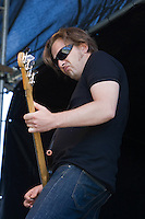 Hoss performing at the first ever All Tomorrows Parties festival held in Australia at Mt Buller, 9 January 2009