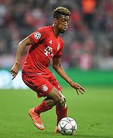FUSSBALL CHAMPIONS LEAGUE  SAISON 2015/2016 VIERTELFINALE HINSPIEL FC Bayern Muenchen - Benfica Lissabon         05.04.2016 Kingsley Coman (FC Bayern Muenchen)