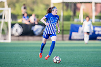 Boston, MA - Friday May 19, 2017: Rose Lavelle during a regular season National Women's Soccer League (NWSL) match between the Boston Breakers and the Portland Thorns FC at Jordan Field.