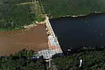 High Rock  dam on the Yadkin River, Hydro Power generating (Progress Energy)