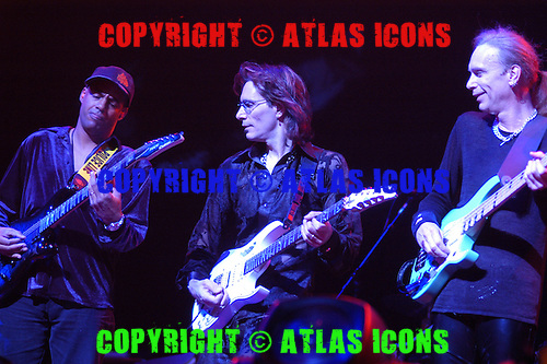 Steve Vai; Live, In New York City, On the G3 Tour.Photo Credit: Eddie Malluk/Atlas Icons.com