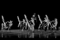 Dancers perform Nevada Ballet Theatre's production of 'Brave New World' in Las Vegas, NV.