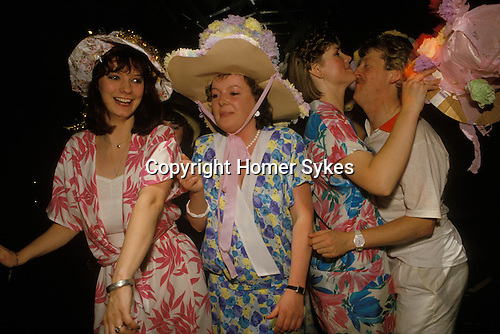 Thursday night Hen party at the Millionaires Club Birmingham England UK Girls have one last fling before their wedding