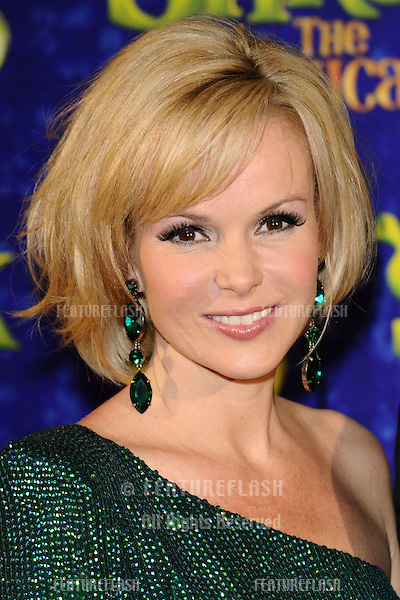 """Amanda Holden (plays Princess Fiona).arrives for the 1st night party of """"Shrek The Musical"""" at Somerset House, London. 14/06/2011  Picture by: Steve Vas / Featureflash"""