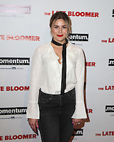 LOS ANGELES, CA - OCTOBER 03: Carissa Culiner attends the premiere of Momentum Pictures' 'The Late Bloomer' at iPic Theaters on October 3, 2016 in Los Angeles, California. (Credit: Parisa Afsahi/MediaPunch).