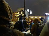 """Die kreml-treue Jugendgruppe Lew Protiw (""""Der Löwe ist dagegen"""") kämpft (hier in Moskau) gegen Raucher und Trinker im öffentlichen Raum. / The youth group Lew Protiw (""""The lion is against"""") fights (here in Moscow) against smokers and drinkers in the public sphere."""