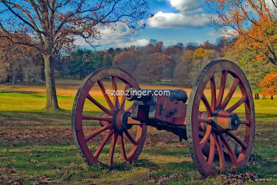 Valley Forge Historic Civil  War Canon, Valley Forge, Pa, Pennsylvania, National Historical Park,