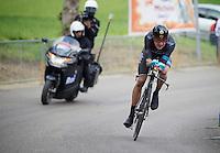 "2013 Giro d'Italia.stage 8: iTT from Gabicce Mare to Saltara.54,8 km..Olympic Champion ""sir"" Bradley Wiggins (GBR)"