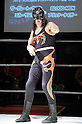 El Samurai, MARCH 25, 2012 - Pro Wrestling: Fukumen Mania event at 1st Ring Shinkiba in Tokyo, Japan.