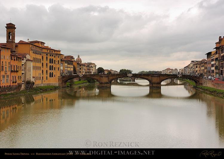 Ponte Santa Trinita World's Oldest Elliptical Arch Bridge Ammannati 1569 Florence