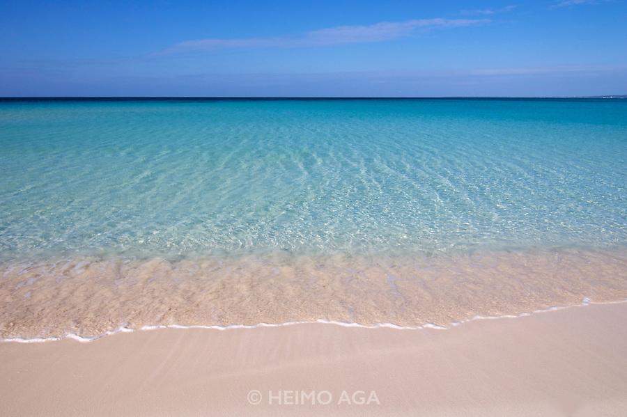 Miyako-jima, Okinawa Archipelago. Maehama - Japan's most beautiful beach.