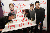 20/11/13<br />  The Wanted, band members (L-R)Max George, Jay McGuiness,Tom Parker,Nathan Sykes and Siva Kaneswaran who will be performing Cheerios Childline Concert at the O2 Dublin this evening&hellip;.<br /> Pic Collins Photos