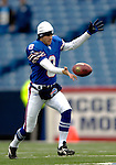 3 December 2006: Buffalo Bills punter Brian Moorman (8) warms up prior to a game against the San Diego Chargers at Ralph Wilson Stadium in Orchard Park, New York. The Charges defeated the Bills 24-21. Mandatory Photo Credit: Ed Wolfstein Photo<br />