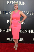 """HOLLYWOOD, CA - AUGUST 16: Rebecca Crews at the LA Premiere of the Paramount Pictures and Metro-Goldwyn-Mayer Pictures title """"Ben-Hur"""", at the TCL Chinese Theatre IMAX on August 16, 2016 in Hollywood, California. Credit: David Edwards/MediaPunch"""