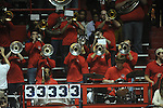 Ole Miss band plays vs. Missouri at the C.M. &quot;Tad&quot; Smith Coliseum on Saturday, January 12, 2013. Ole Miss defeated #10 ranked Missouri 64-49.