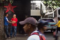 Following the ghost of Hugo Chavez, Caracas, Venezuela, December 17, 2015.