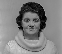 Ann Fitt, wife of Gerry Fitt, MP, West Belfast, SDLP, UK Parliament, 24th January 1974, 197401240040<br />