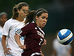 07 September 2007: Texas A&M's Rachel Shipley. The University of North Carolina Tar Heels defeated the Texas A&M University Aggies 2-1 at Fetzer Field in Chapel Hill, North Carolina in an NCAA Division I Women's Soccer game, and part of the annual Nike Carolina Classic tournament.