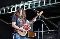 Red Fang performing at Soundwave Festival 2013, Flemington Racecouse, Melbourne, 1 March 2013