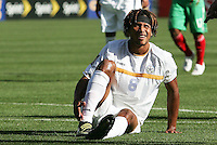 Rudel Calero after the play. Mexico defeated Nicaragua 2-0 during the First Round of the 2009 CONCACAF Gold Cup at the Oakland, Coliseum in Oakland, California on July 5, 2009.