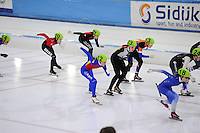 SCHAATSEN: HEERENVEEN: 05-02-2017, KPN NK Junioren, ©foto Martin de Jong