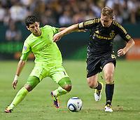 Los Angeles Galaxy vs Seattle Sounders FC July 04 2011