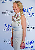 "HALLANDALE BEACH, FL - JAN 28: Stronach Group President Belinda Stronach on the ""red carpet"" during the Pegasus World Cup Invitational Day at Gulfstream Park Race Course on January 28, 2017 in Hallandale Beach, Florida. (Photo by Scott Serio/Eclipse Sportswire/Getty Images)"