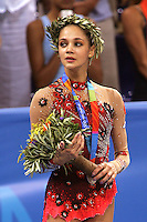 August 29, 2004; Athens, Greece; Rhythmic gymnastic star IRINA TCHACHINA of Russia won silver in All-Around competition at 2004 Athens Olympics.<br />