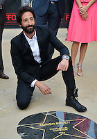 Adiren Brody & Moran Atias on the Walk Of Fame in Ostende - Belgium