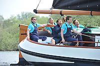 SKUTSJESILEN: Opening seizoen Earnewâld, Princenhoftocht voor Skûtsjes, Pieter Eldertszn. Meeter, ©foto Martin de Jong