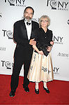 Mandy Patinken and wife Katherine Grody attends th 66th Annual Tony Awards on June 10, 2012 at The Beacon Theatre in New York City.