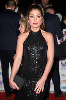 LONDON, UK. October 31, 2016: Nikki Sanderson at the Pride of Britain Awards 2016 at the Grosvenor House Hotel, London.<br /> Picture: Steve Vas/Featureflash/SilverHub 0208 004 5359/ 07711 972644 Editors@silverhubmedia.com